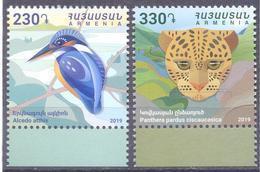 2019. Armenia, Fauna Of Armenia, 2v, Mint/** - Armenia