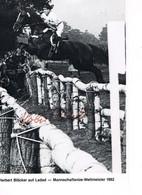 JEUX OLYMPIQUES - AUTOGRAPHE SUR PHOTO - ALLEMAGNE - BLÖCKER - EQUITATION  - - Autogramme