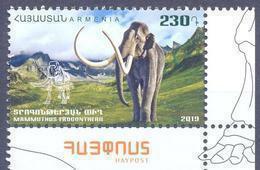 2019. Armenia, Prehistiric Animals Of The Ancient World, 1v, Mint/** - Armenia