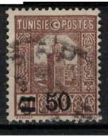 TUNISIE        N°  YVERT :    160 ( 9 )  OBLITERE       ( OB   9 / 16 ) - Used Stamps