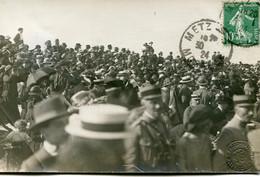 METZ - 02 Et 03 JUIN 1920 - CARTE PHOTO RARE De Mr Alexandre MILLERAND Par PRILLOT - LA FOULE - - Metz