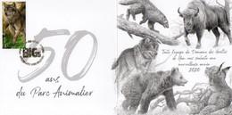 A.BUZIN 5 CARTES BIGS +TIM. OBLI 31/08/2020 BRUXELLES/BRUSSEL - 1985-.. Oiseaux (Buzin)