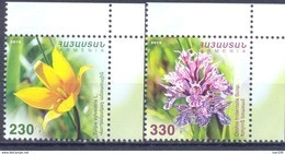 2016. Armenia, Flowers Of Armenia 2v, Mint/** - Armenia
