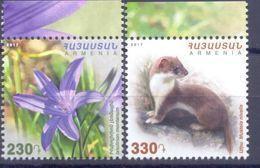 2017. Armenia, Flora And Fauna Of Armenia, 2v,  Mint/** - Armenia