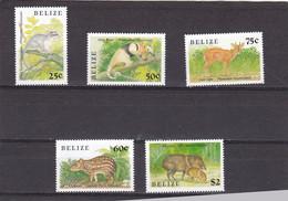 Belice Nº 904 Al 908 - Belize (1973-...)