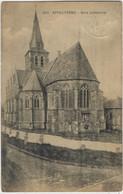 Appelterre.   -   Kerk Achterzicht.   -   Uitg. B. De Ceuleneer.   -   1927   Naar   Nivelles - Ninove