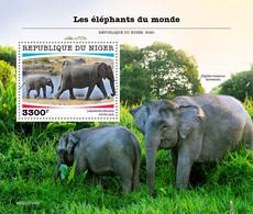 Niger 2020   Fauna  Elephants  S202007 - Niger (1960-...)