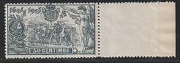 1905. ** Edifil: 263. III CENTENARIO DEL QUIJOTE - 1889-1931 Kingdom: Alphonse XIII
