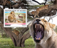 Niger 2020   Fauna  Lions S202007 - Niger (1960-...)