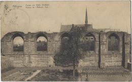 Affligem   Hekelghem  Gestempeld.   -   Puinen Der Abdij,  Zuidkant.  -   Kerk.   1920   Naar   Baesrode - Affligem