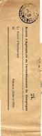 1900 - Bande De Journal Avec  IMPRIMES P  P  * COMPIEGNE * - Storia Postale
