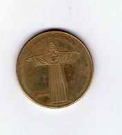 Médaille Touristique. Portuguese Heritage. Almada; Santuario De Cristo Rei - Tokens & Medals