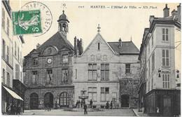 MANTES : L'HOTEL DE VILLE - Mantes La Ville