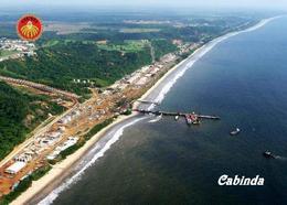 Angola Cabinda City Port Aerial View New Postcard - Angola