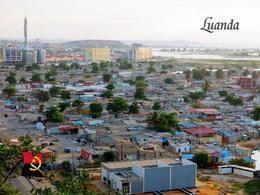 Angola Luanda Aerial View New Postcard - Angola