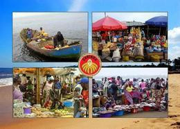 Angola Cabinda Exclave Angola Multiview New Postcard - Angola