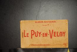 CP, 43, LE PUY EN VELAY , Album Souvenir, Carnet De 18 CP, Voir Scan - Le Puy En Velay