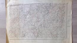 87-19- AFFICHE PLAN SAINT YRIEIX-GLANDON-MONGIBAUD-BENAYES-LUBERSAC-ARNAC POMPADOUR-SARLAND-ANGOISSE-LANOUAILLE-SEGUR - Posters