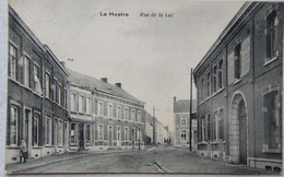 CPA LA HESTRE La Louvière Rue De La Loi - La Louvière