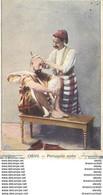WW ALGERIE. Perruquier Coiffeur Rasant à Oran. Verso Tarifs D'un Vin Sénéclauze - Profesiones