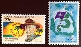 Cocos Keeling 1982 Scouts MNH - Cocos (Keeling) Islands