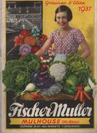 Catalogue Fischer Muller 1937 - Giardinaggio