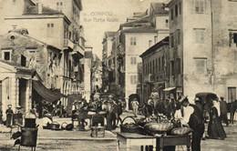 CORFOU  Rue Porta Reale Recto Verso - Greece
