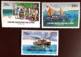 Cocos Keeling 1984 Barrel Mail MNH - Cocos (Keeling) Islands
