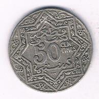 50 CENTIMES 1921  MAROKKO /7557/ - Marokko