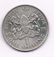 1 SHILLING   1978  KENIA /7559/ - Kenya