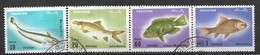 PAKISTAN USED STAMPS SET FISHES - Pakistan