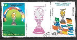 PAKISTAN USED STAMPS SET HOCKEY - Pakistan