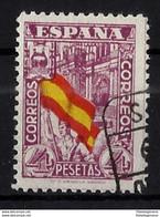ESPAÑA 812 En Usado. Cat.60 € - 1931-50 Usados
