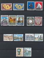 WW-/-953. YVERT - EUROPA 73/79. OBL., COTE 8.20 €, IMAGE DU VERSO SUR DEMANDE - Usati