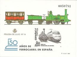 España Prueba Oficial  Edifil 67  150 Ferrocarril España  1998  NL975 - 1931-Hoy: 2ª República - ... Juan Carlos I