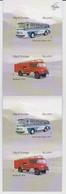 Iceland Mi 1387-1388 Transportation - Automobile Age 1913-2013 - Mercedes Benz Bus - Bedford Fire Engine 2013 ** - 1944-... Republik