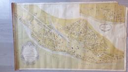 33- ARCACHON- LE MOULLEAU-RARE AFFICHE PLAN EDITE PAR AGENCE DUCOS-L. SABARDAN-VILLA DUCLOS 284 BD PLAGE-IGNE TRAMWAY - Posters