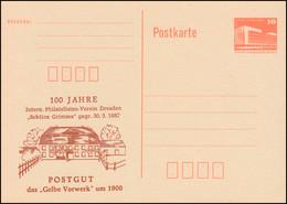 DDR P 86I 100 Jahre Sektion Grimma Postgut 1887-1987, ** - [6] Repubblica Democratica