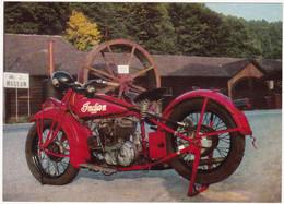 Motos : Moto  : INDIAN : Scout : Année 1927 : Illustration : - Motos