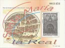 España Prueba Oficial  Edifil 73  Santa María Real  Aranda Duero  2000  NL942 - 1931-Hoy: 2ª República - ... Juan Carlos I