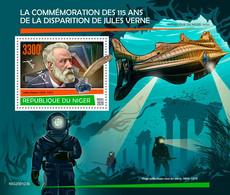 Niger 2020 Jules Verne ,under The Sea    S202007 - Niger (1960-...)