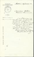 Document Des Télégraphes Octog BERTRIX/1912 - Telegraph