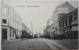 CPA LA LOUVIERE Rue De La Chaussée - La Louvière