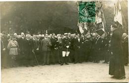 METZ - CARTE PHOTO De La REUNION Des ANCIENS COMBATTANTS - DISCOURS De L' ABBE Charles RITZ  -  2 JUIN 1923 - - Metz