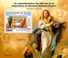 Niger 2020 Paintings Of  Giovanni Battista Tiepolo  S202007 - Niger (1960-...)