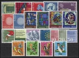 1970. Switzerland. Full Years. MNH ** - Svizzera