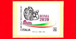 Nuovo - MNH - ITALIA - 2020 - 150 Anni Della Breccia Di Porta Pia – Logo Raduno Bersaglieri - A - Da BF - 2011-...: Neufs