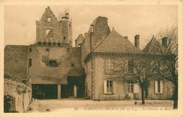 CPA Martigné Briand-Le Château De Riou-RARE    L3138 - Sonstige Gemeinden