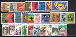 1973. Switzerland. Full Years. MNH ** - Nuovi