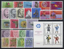 1974. Switzerland. Full Years. MNH ** - Svizzera